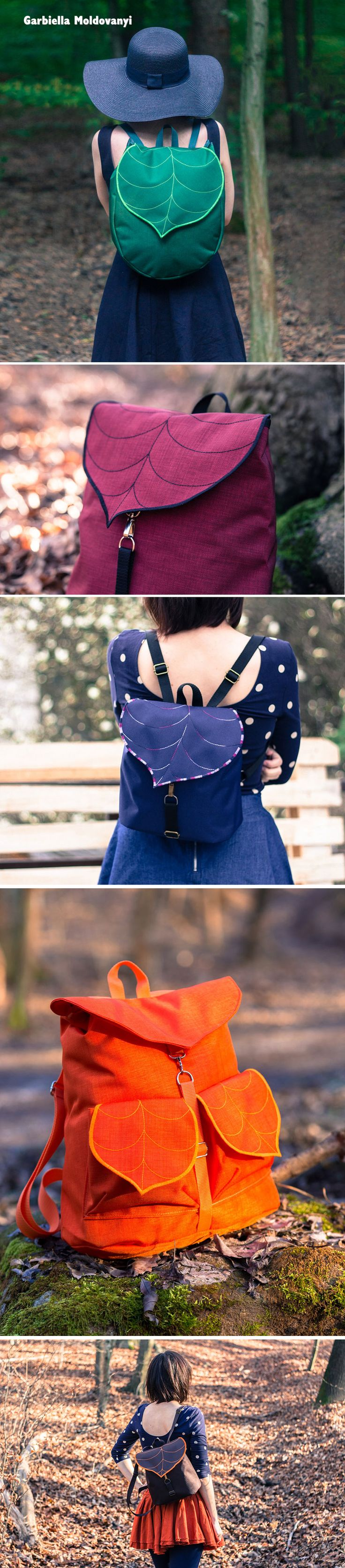 """Leafling is a Budapest-based shop that's taking a leaf out of nature by using the natural world to inspire these beautiful bags and backpacks.... Garbiella Moldovanyi and her partner Adam are the creative duo behind the scenes, and their designs are based around the shape of leaves to create a product that's both practical and evocative."""