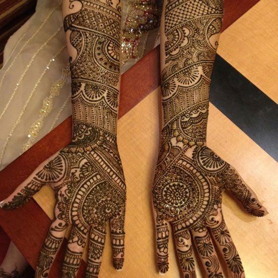 indian bridal art