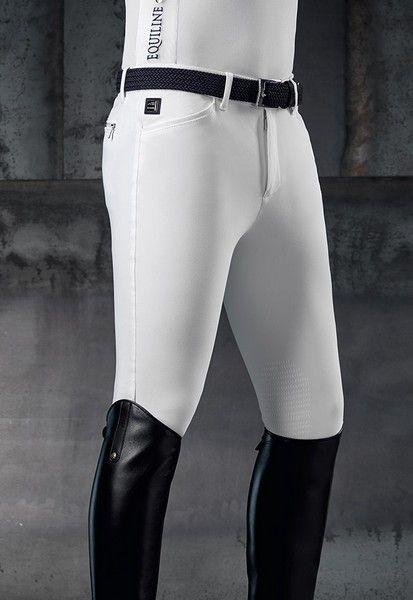 Pantalone Equiline Willow X-Grip Knee con toppa al ginocchio