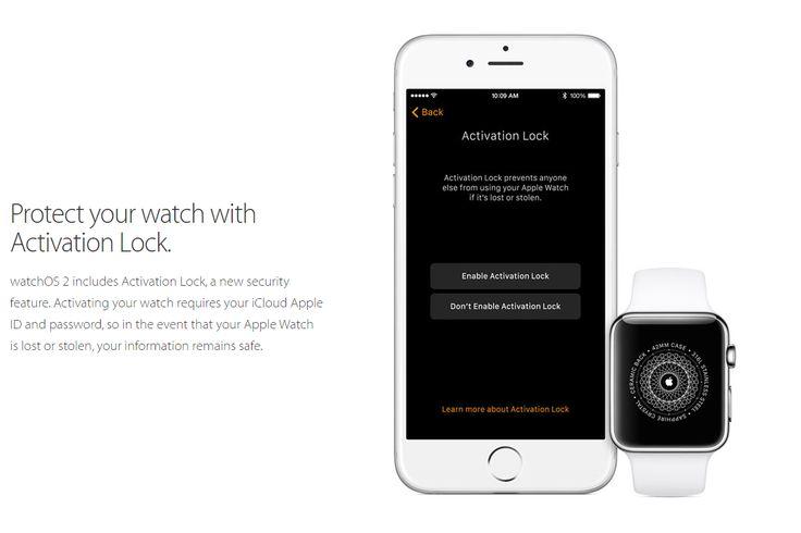 Το Activation Lock έρχεται στο Apple Watch | Smartwatcher.gr