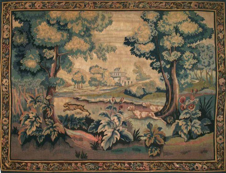 1060-Tapisserie Aubusson 19éme siècle - Cliquez sur l'image pour la fermer
