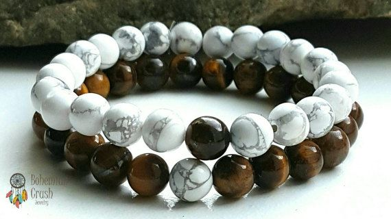 Check out this item in my Etsy shop https://www.etsy.com/ca/listing/509363191/couples-bracelets-gemstone-bracelets