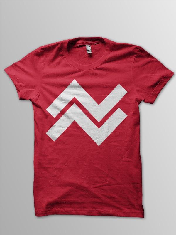 TW016Camisetas Roja,  T-Shirt, Twinapparel,  Tees Shirts, Twin Apparel, Red Tshirt, Kelly Green, Apparel Rings, T Shirts
