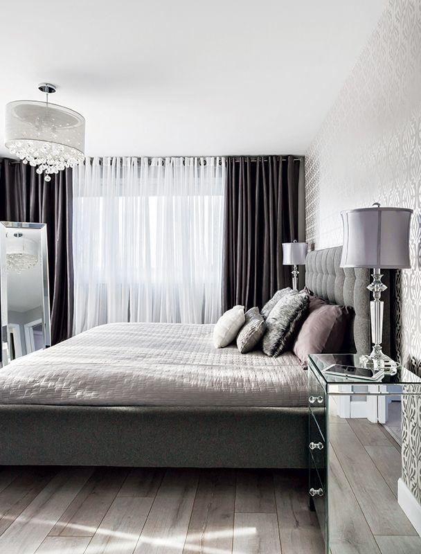 17 meilleures id es propos de rideau chambre sur for Habillage de fenetre contemporain