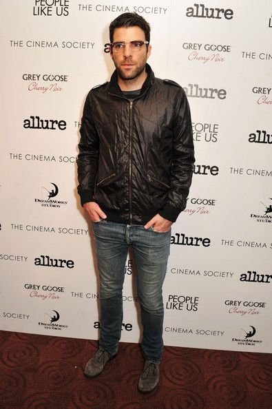 """Zachary Quinto Photo - The Cinema Society With Linda Wells & Allure Host A Screening Of DreamWorks Studios' """"People Like Us"""" -  Arrivals"""