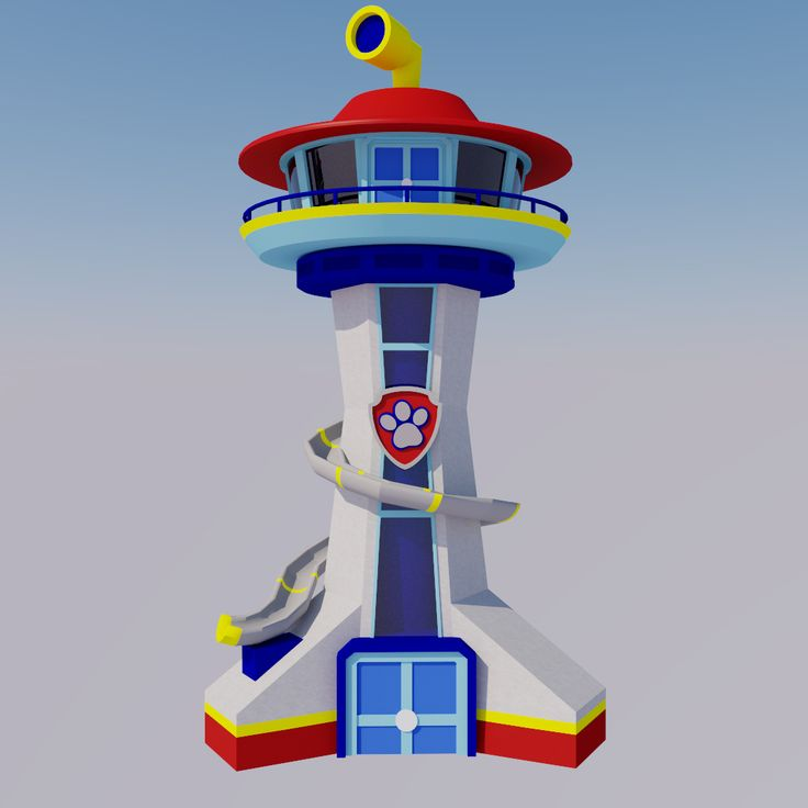 Paw Patrol Lookout Tower ( I Have A Two Year Old