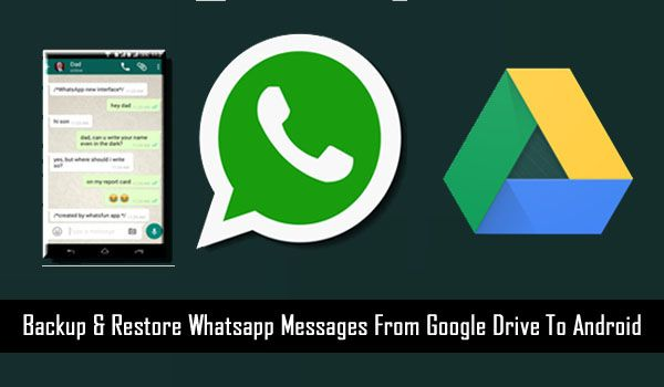 How To Restore #Whatsapp Messages From #GoogleDrive To #Android. Learn easy steps to #Backup & #Restore WhatsApp Messages with Google Drive. As well as move whatsapp #chathistory from old phone to new phone.