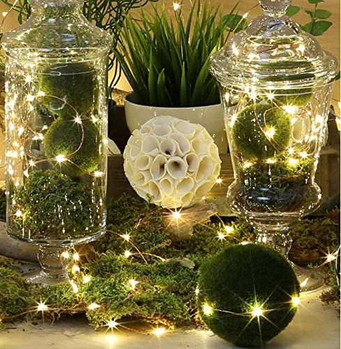 Holiday Decor BZONE Led String Starry Light Copper Wire Lights Decorative  Leds, Warm White, On ShopSavvy