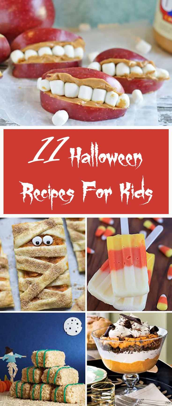 """Fall has just arrived and it means Halloween is knocking at the door.  Don't worry about the finishing process. When your stress is over and you are  set with your dress up and decoration, we have covered the last part for you.  We have many delicious Halloween recipes for your kids like bread stick bones  with """"marrow""""nara dipping sauce, scarecrow cupcakes and tombstone brownies etc."""