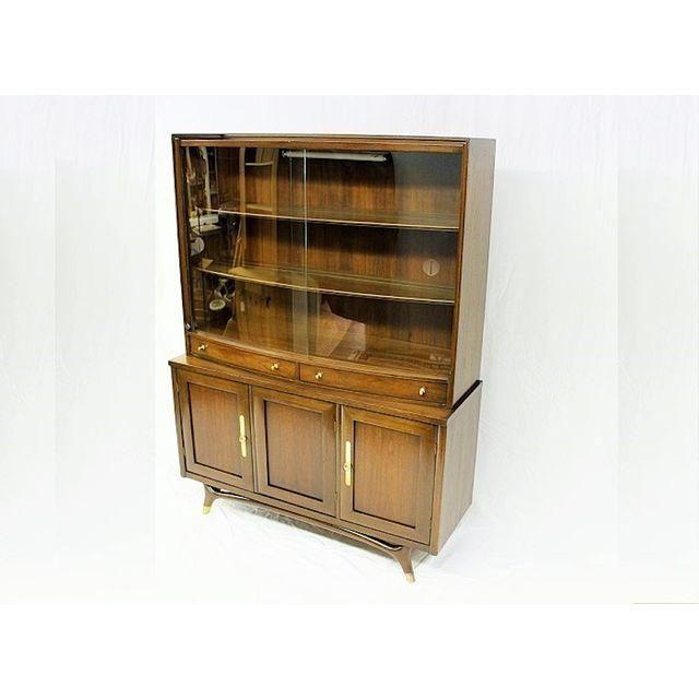 image of mid century modern china cabinet