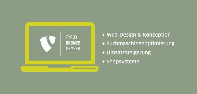 Design-Agentur ARNE: Grafikdesign, Esslingen, Stuttgart, Heilbronn, Webseite, TYPO3