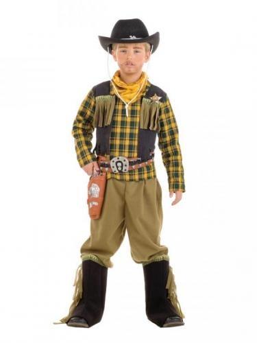 Disfraz de Vaquero infantil. Cowboy costume. Leondisfraces