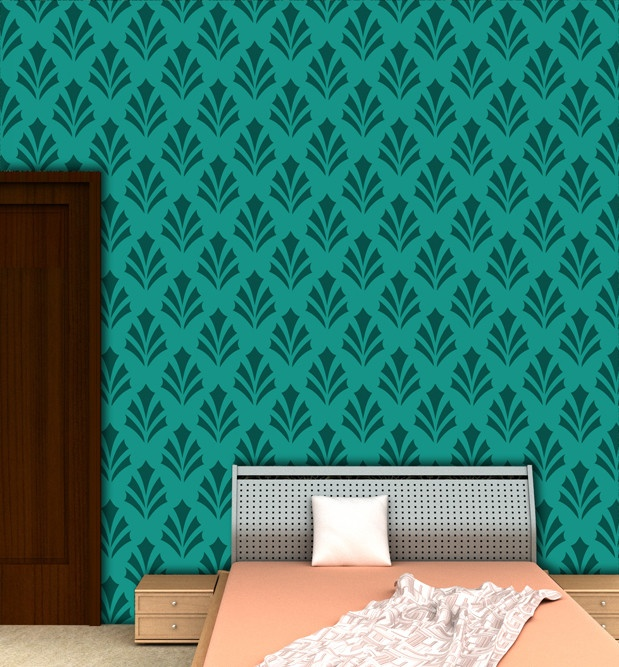 22 Best Images About Geometric Wall Painting Stencils On