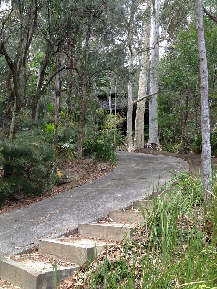 9 best steep driveway ideas images on pinterest for Steep driveway construction