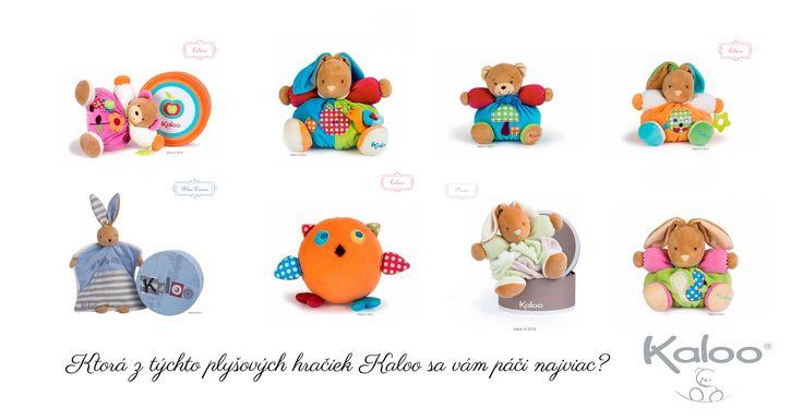 Dětský ráj plyšových hraček Kaloo na http://goo.gl/3WtCRh . Kterou z těchto plyšových hraček byste chtěli pro své děťátko nejvíce?