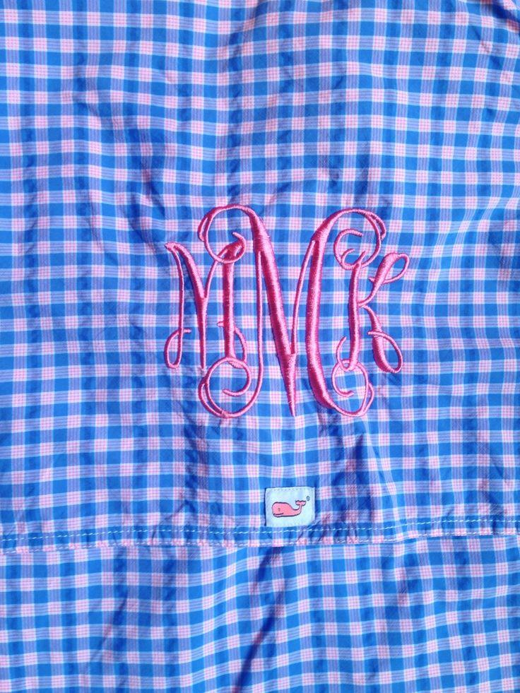 Vineyard vines monogram monogrammed pinterest for Vineyard vines fishing shirt