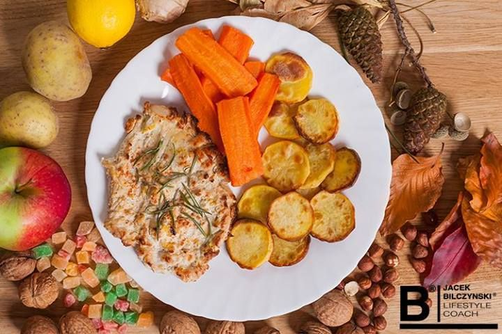 Zmęczeni po treningu? Polecamy danie fit: pieczone #ziemniaki z indykiem i nutą pomarańczy. #Przepis znajdziecie tutaj: https://www.facebook.com/photo.php?fbid=729531470394440&set=a.278379078843017.86815.275301652484093&type=1&ref=nf ||  Kaloryczność: 354 kcal Białko: 33g Tłuszcz: 6g Węglowodany: 42g || #fit #kuchnia #przepisy #fitness #bilczynski #dieta #fitness #kalorie #dietetyczne