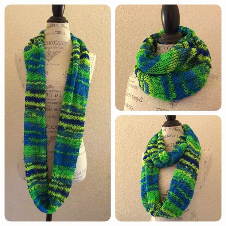 Tube Scarf Knitting Pattern : 1000+ images about Knitting on Pinterest Free pattern, Knit patterns and Shawl