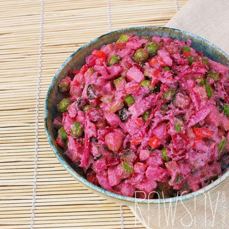 Салат винегрет - Сыроедение, рецепты и диеты - Rawsay