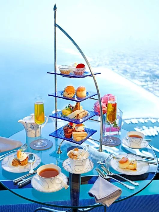 Burj Al Arab - Afternoon Tea