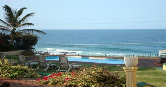 Scenic views like this await you at Le Paradis backpackers lodge on the KwaZulu-Natal South Coast in South Africa.