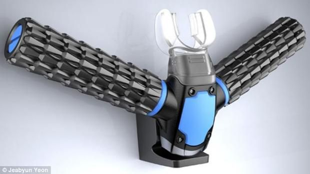 """Atmen unter Wasser ohne Sauerstoffflasche? """"Triton"""" soll es möglich machen. - Jeabyun Yeon / Daily Mail"""