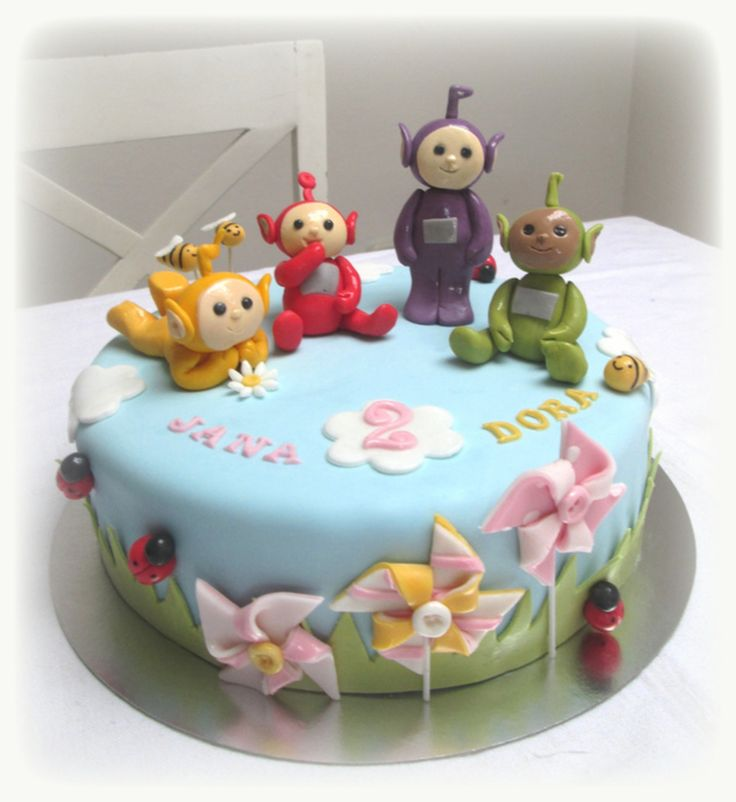 Teletubbies Cake Hair Teletubbies Cake Cake