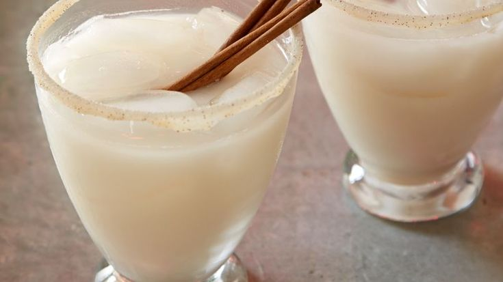 What better way to celebrate than with two classic drinks of Mexican cuisine: agua de horchata (rice water) and tequila!