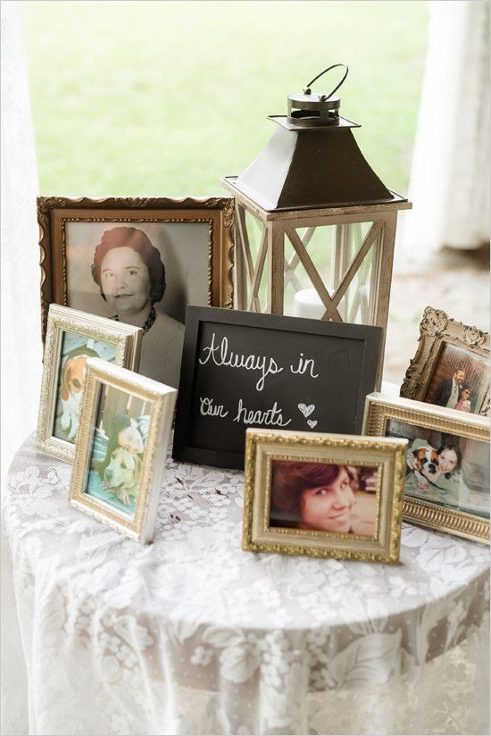 #memorialtable #weddingmemorial #inmemoryof @weddingchicks