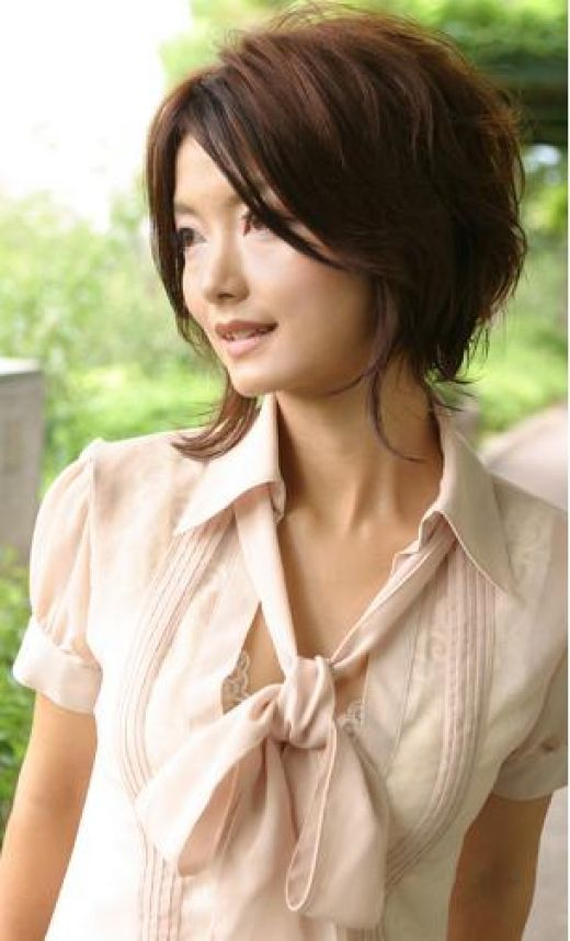Short+Hair+Styles+For+Women+Over+40 | short hairstyles with long layers for women
