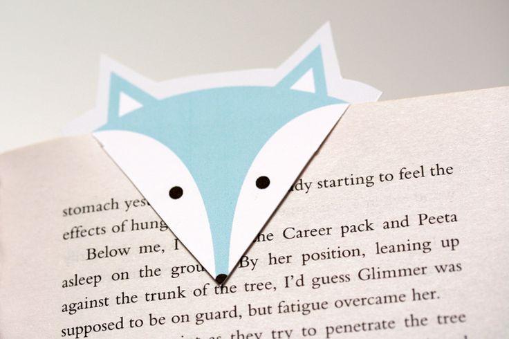 Foxy Bookmarks - FREE PRINT