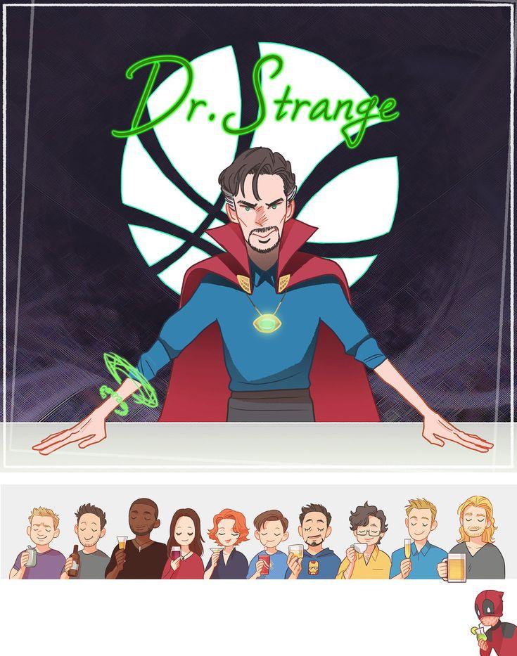 Dr.Strange's limitless Bar by Hallpen