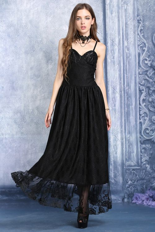 Lace Hem Gothic Dress by Dark in Love                                                                                                                                                                                 More