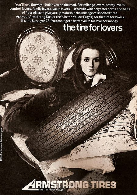 vintage everyday: Vintage Swinging Tyre Adverts