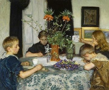 https://www.google.com/search?site=Children Painting Spring Flowers, 1894. Oil on canvas. Skagens Museum, Skagen. Photo belongs to Skagens Museum, Skagen.