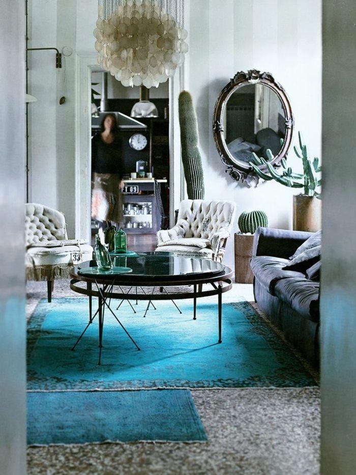 Teppich im wohnzimmer  Die besten 25+ Blaue Teppiche Ideen auf Pinterest | Marineblaue ...
