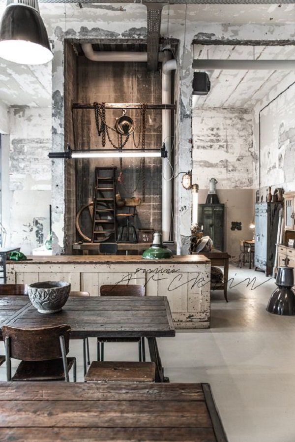30 Industrial Style Interior Designs With Images Industrial