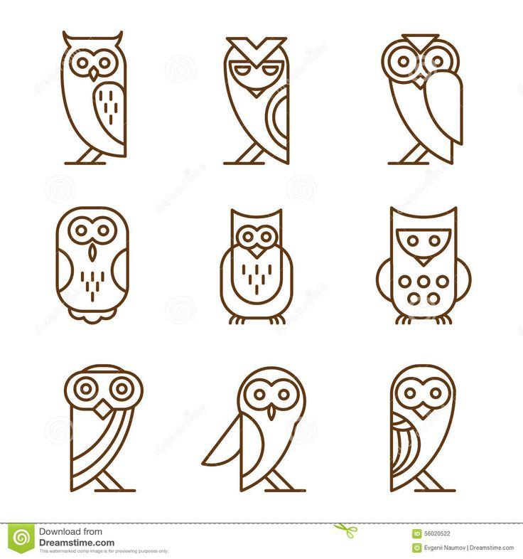happy owl logo - Google Search