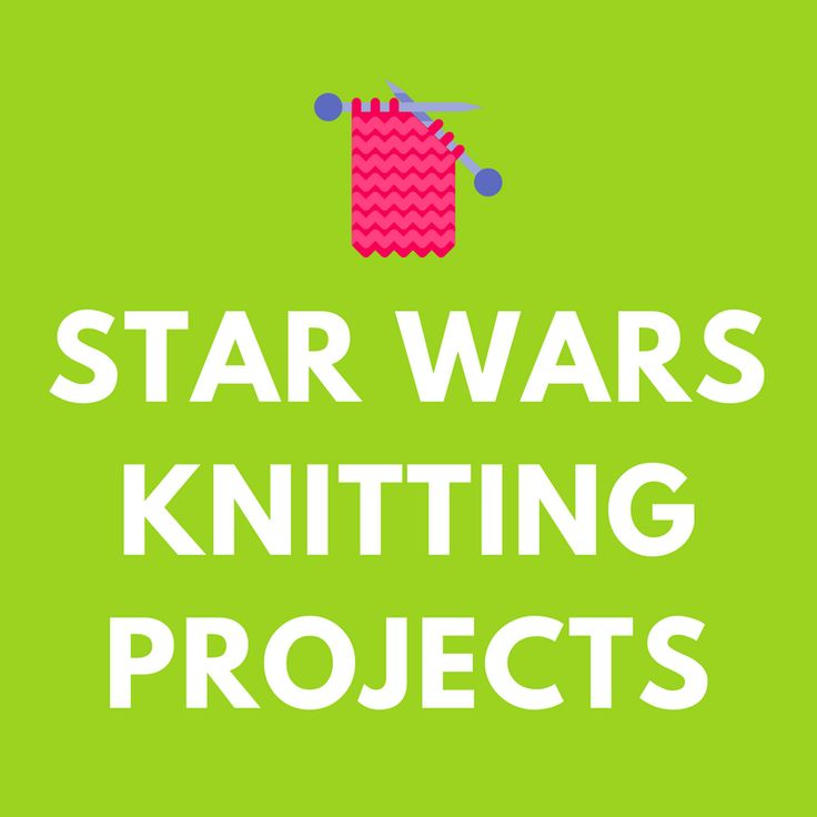 Magnfico Star Wars Knitting Pattern Imgenes Manta De Tejer