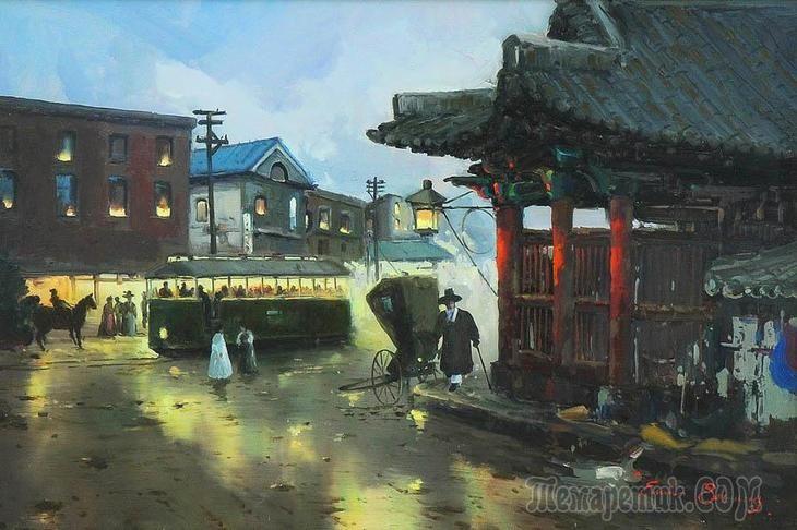 Корейская живопись. Хо Пхиль Сок – Heo Pil-Seok (허필석). Республика Корея