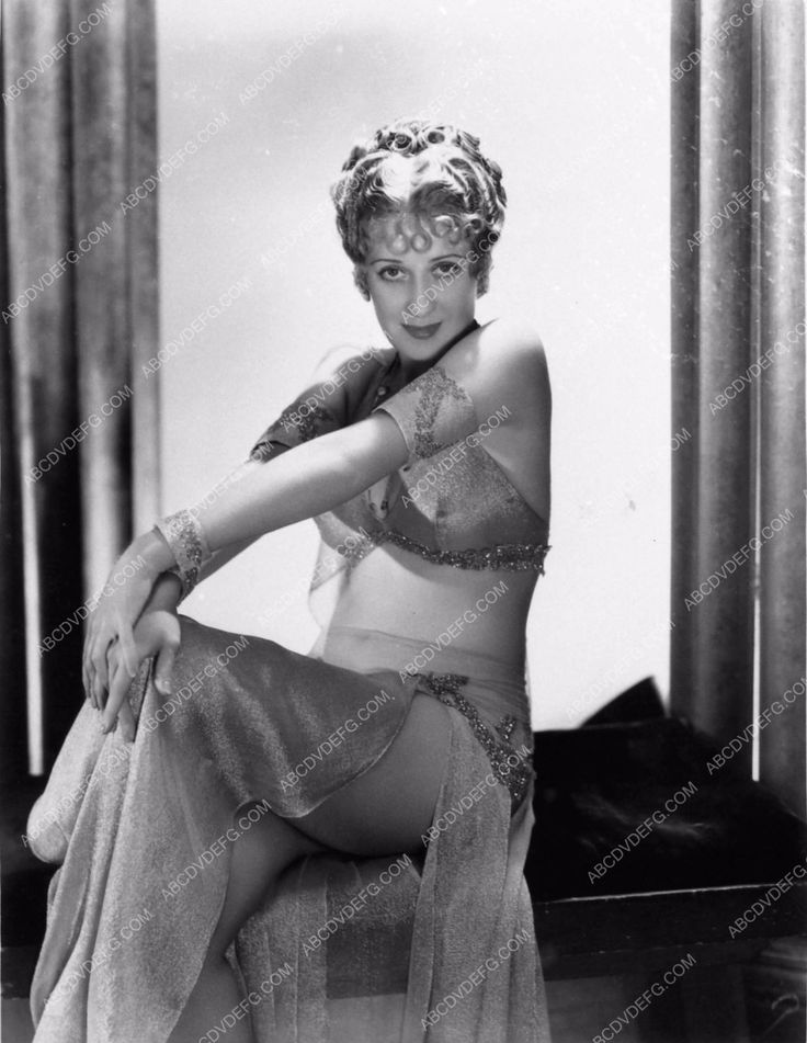 photo portrait Ruth Etting pre-code leggy sexy photo Roman Scandals 1189-24