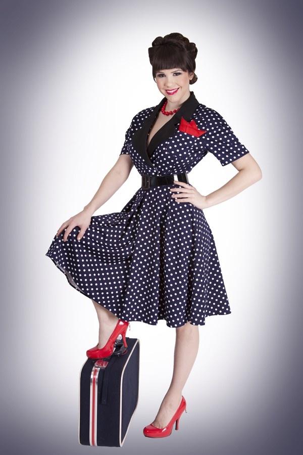 Alika white circle dress pattern.