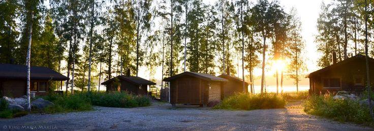 Murajan vuokramökit Kiikoisjärven rannalla Sastamalassa murajantila.blogspot.com