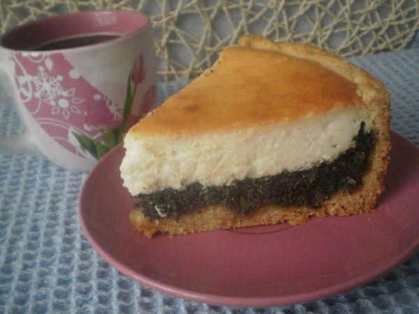 Творожно-маковый торт