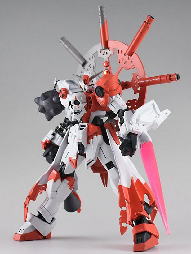 1/144 Wingless Skull Gundam - Custom Build