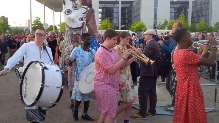 Marching Band auf dem Kirchentag 2017