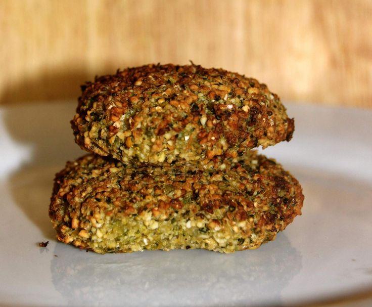 Brokkoli falafel (vegan und glutenfrei)