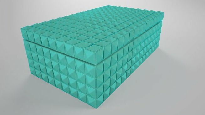 Caixa Decorativa - 3D Warehouse
