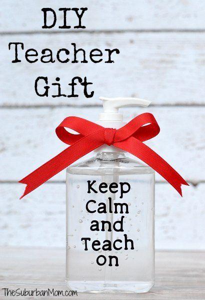 DIY Simple Teacher Gift – Keep Calm And Teach On