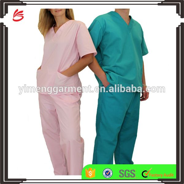 Fashion nursing scrubs/hospital uniform/medical scrubs